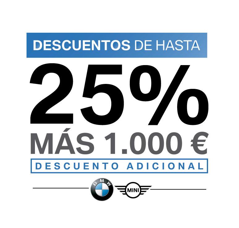 25%Descuento en BMW Zaragoza